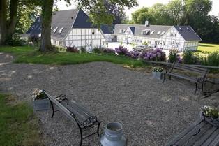 Boerderij met eigen zwembad op Funen in Denemarken