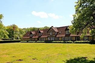 Historische boerderij op Funen in Denemarken
