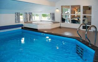 Vakantiehuis met eigen zwembad in Blavand, Denemarken