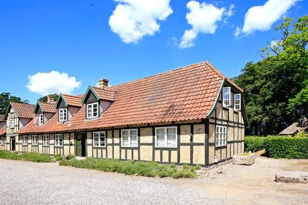 Historische boerderij op Funen