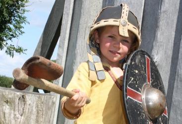 Zuid-Denemarken, Ribe Vikingecenter