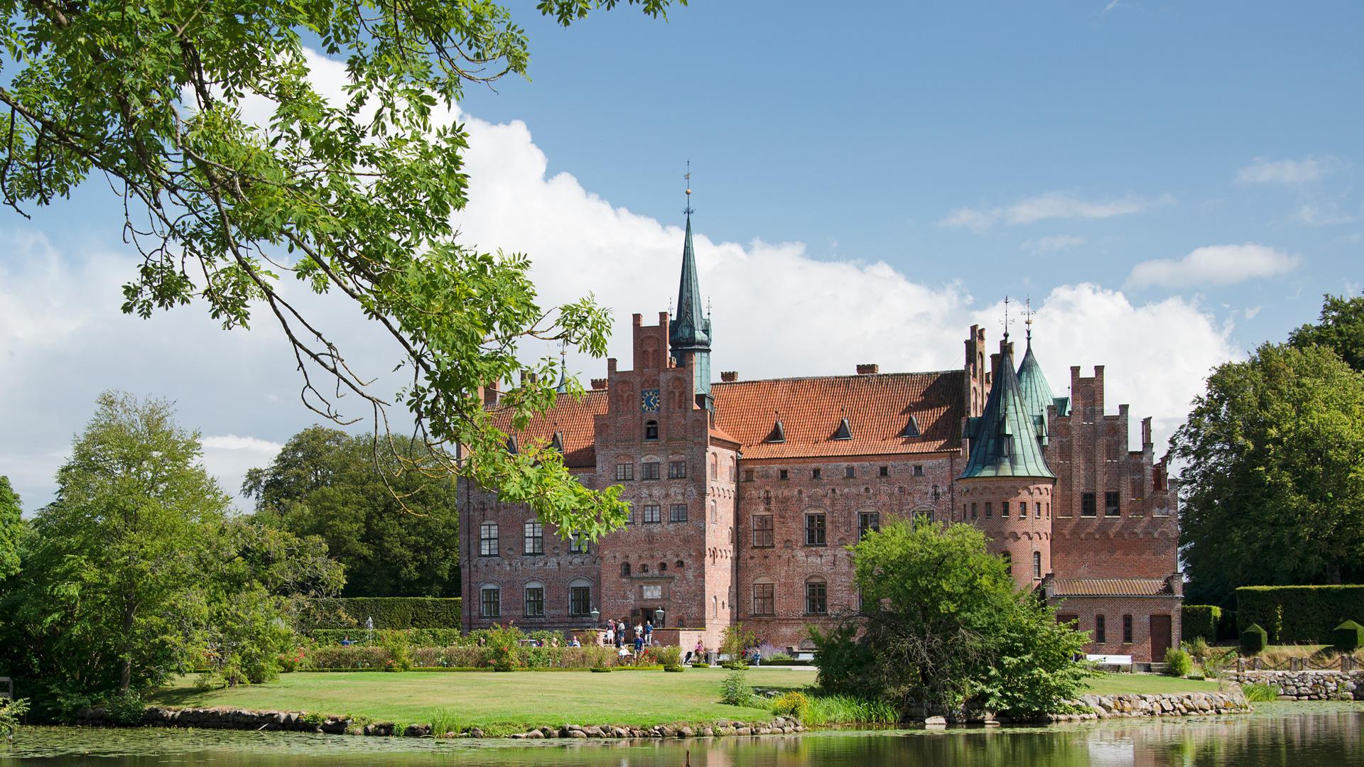 De kastelen van Zuid-Denemarken