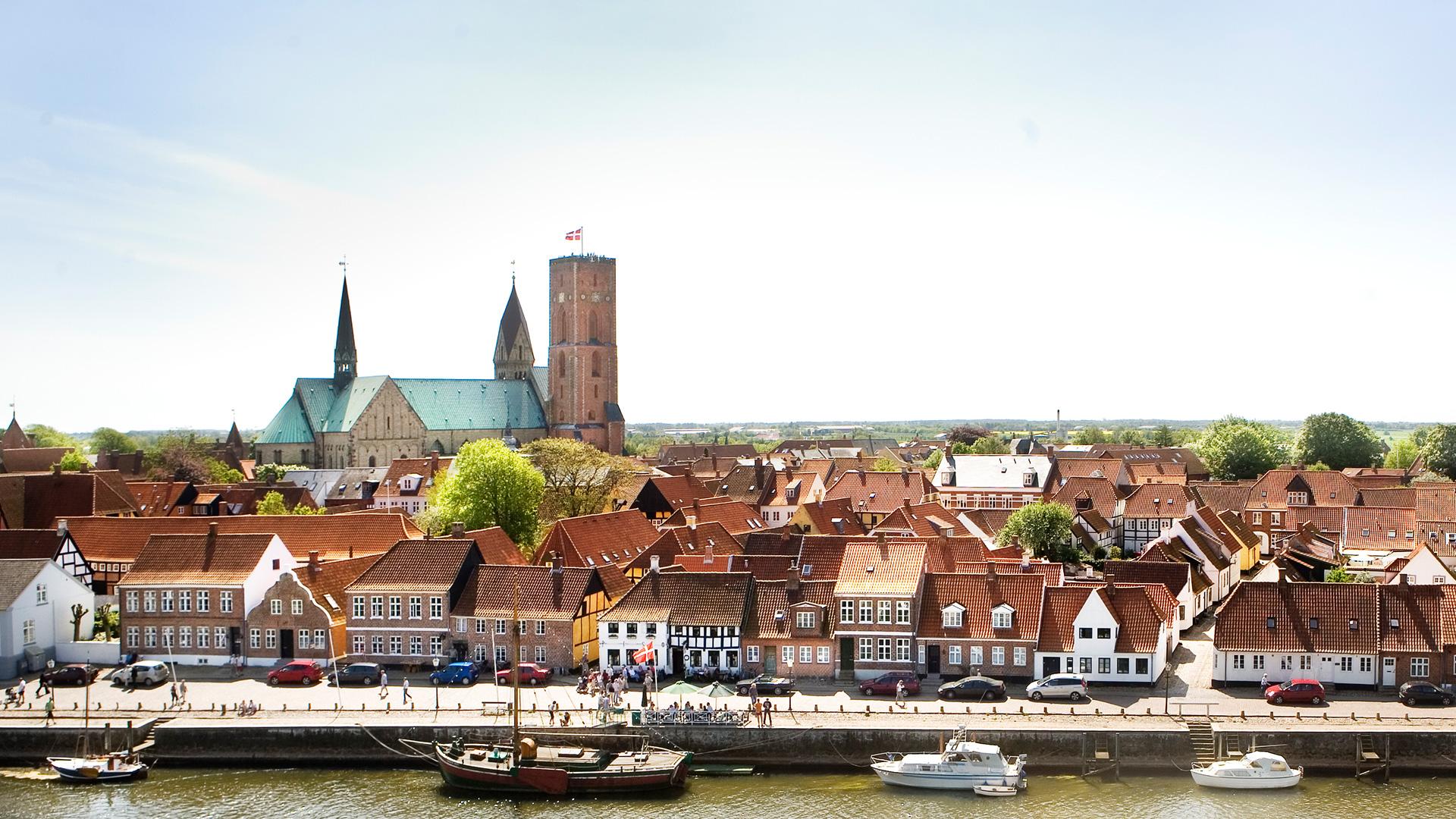 De steden van <br>Zuid-Denemarken