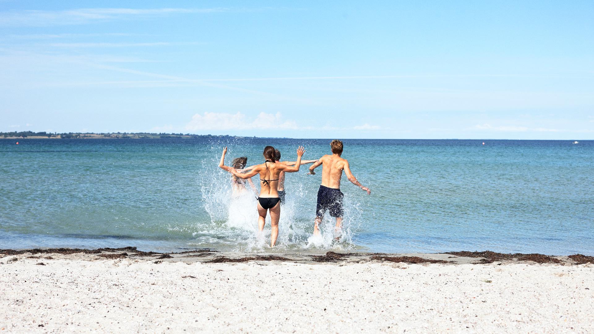 De stranden van Zuid-Denemarken