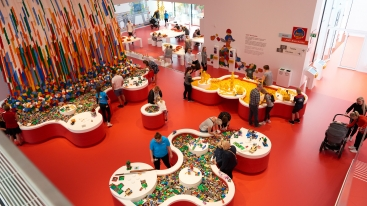 LEGO House Billund, Denemarken