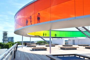 ARoS Kunstmuseum in Aarhus, Denemarken