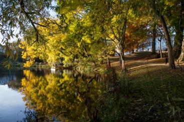 Herfst in Denemarken Ørstedparken, Fotograaf: Kim Wyon/VisitDenmark