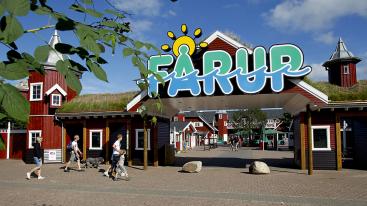 Fårup Sommerland in Noord-Jutland, Denemarken