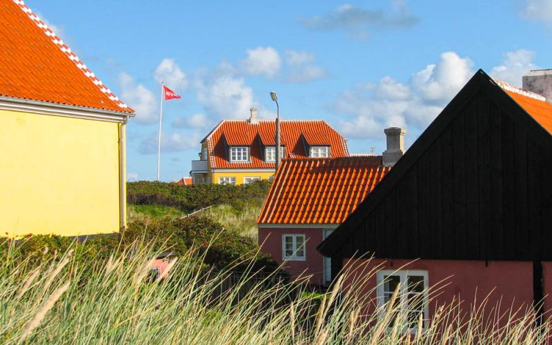 Skagen in Noord-Jutland