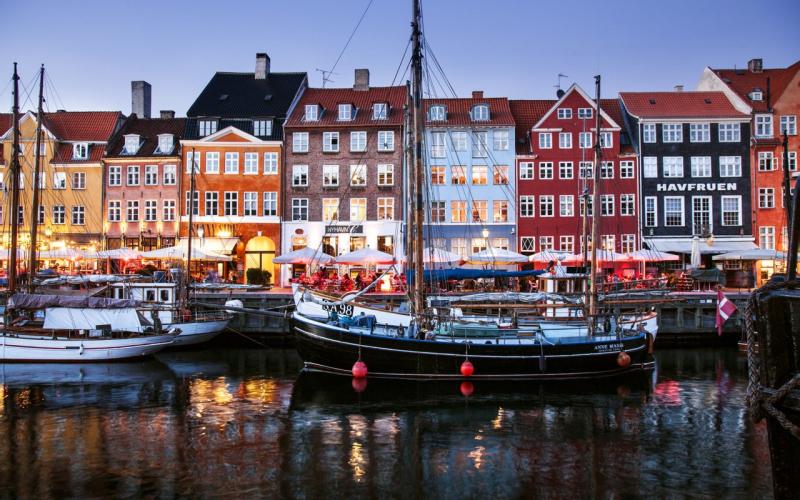 Nyhavn in Kopenhagen, de hoofdstad van Denemarken. Foto: Kim Wyon/VisitDenmark