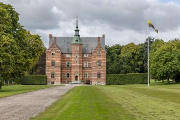 Landhuis op de Oost-Deense eilanden. Foto: Tage Klee
