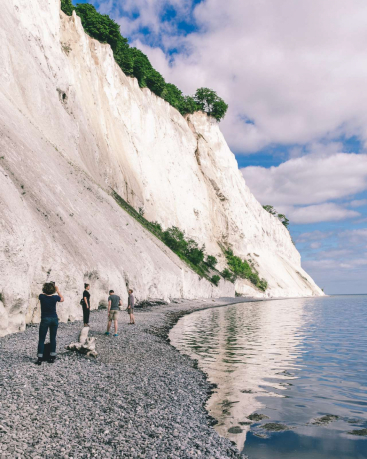 Geocenter Møns Klint op Møn in Denemarken