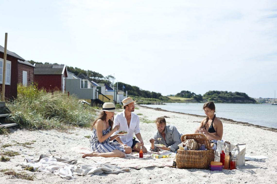 Ærøskøbing Strand. Foto: VisitDenmark / Niclas Jessen