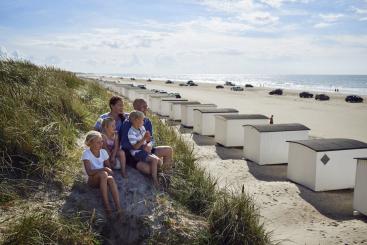Løkken Strand in Noord-Jutland. Foto: VisitDenmark / Niclas Jessen