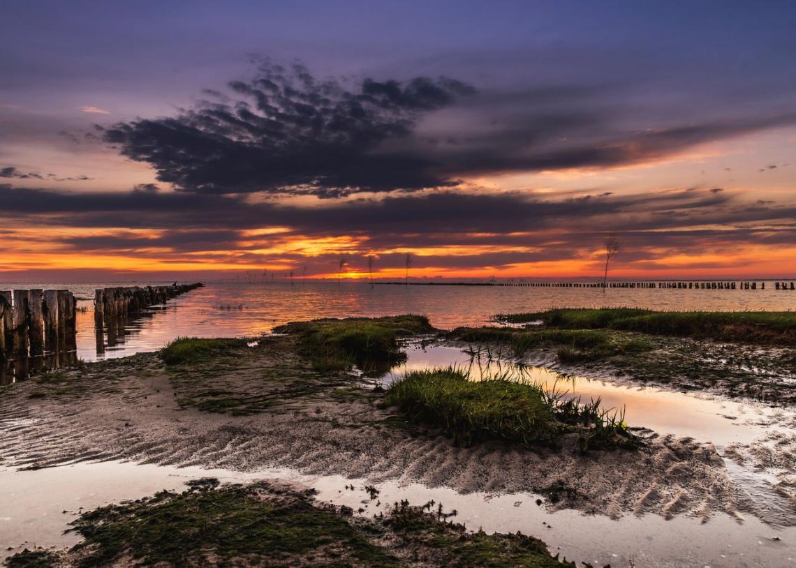 De Deense Waddenzee. Foto Lars Roed / VisitDenmark