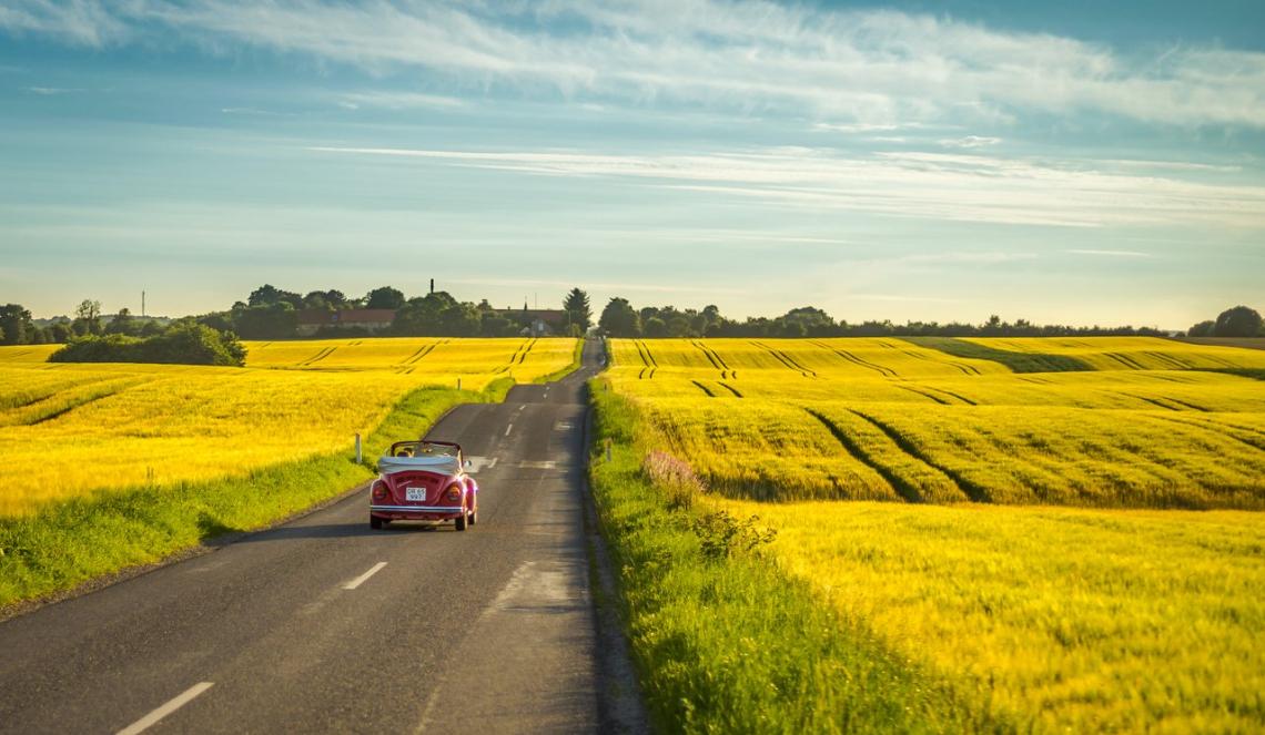 Deens landschap. Foto: Dennis Borup Jakobsen / VisitDenmark