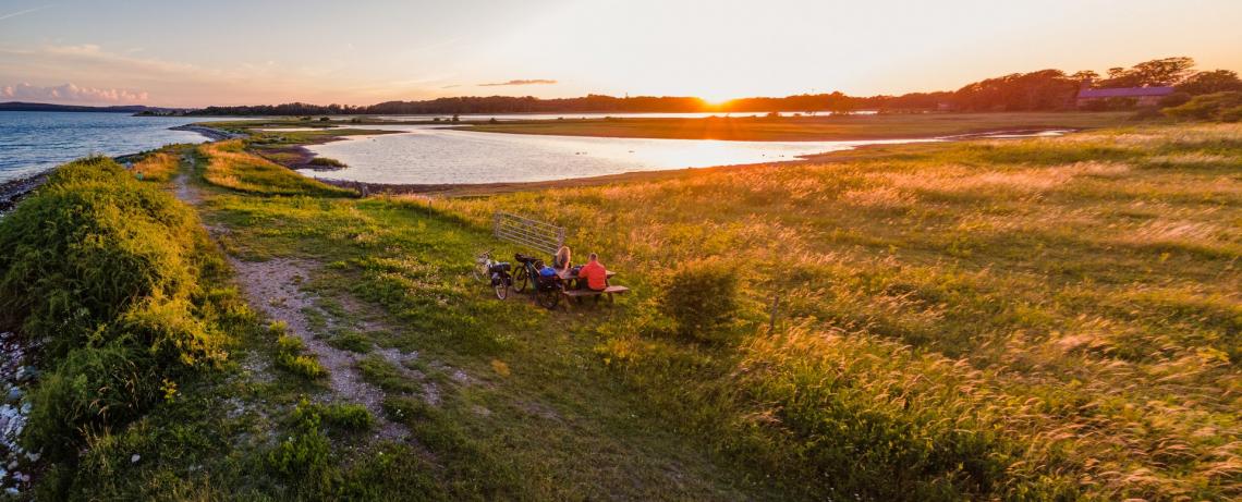 Picknick bij Knudshoved. Foto: Daniel Villadsen