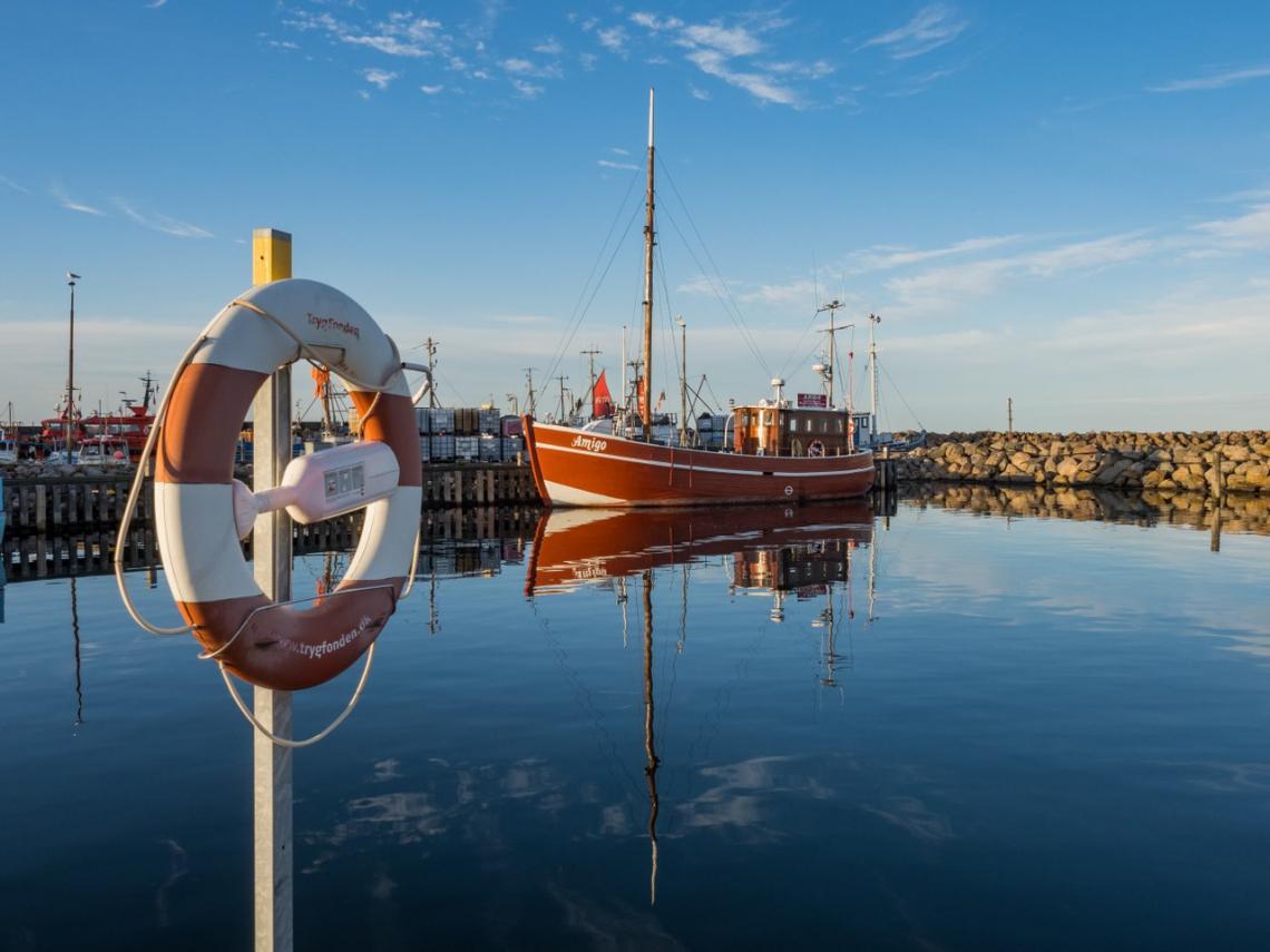 Lundeborg Havn. Foto: Daniel Villadsen / VisitDenmark