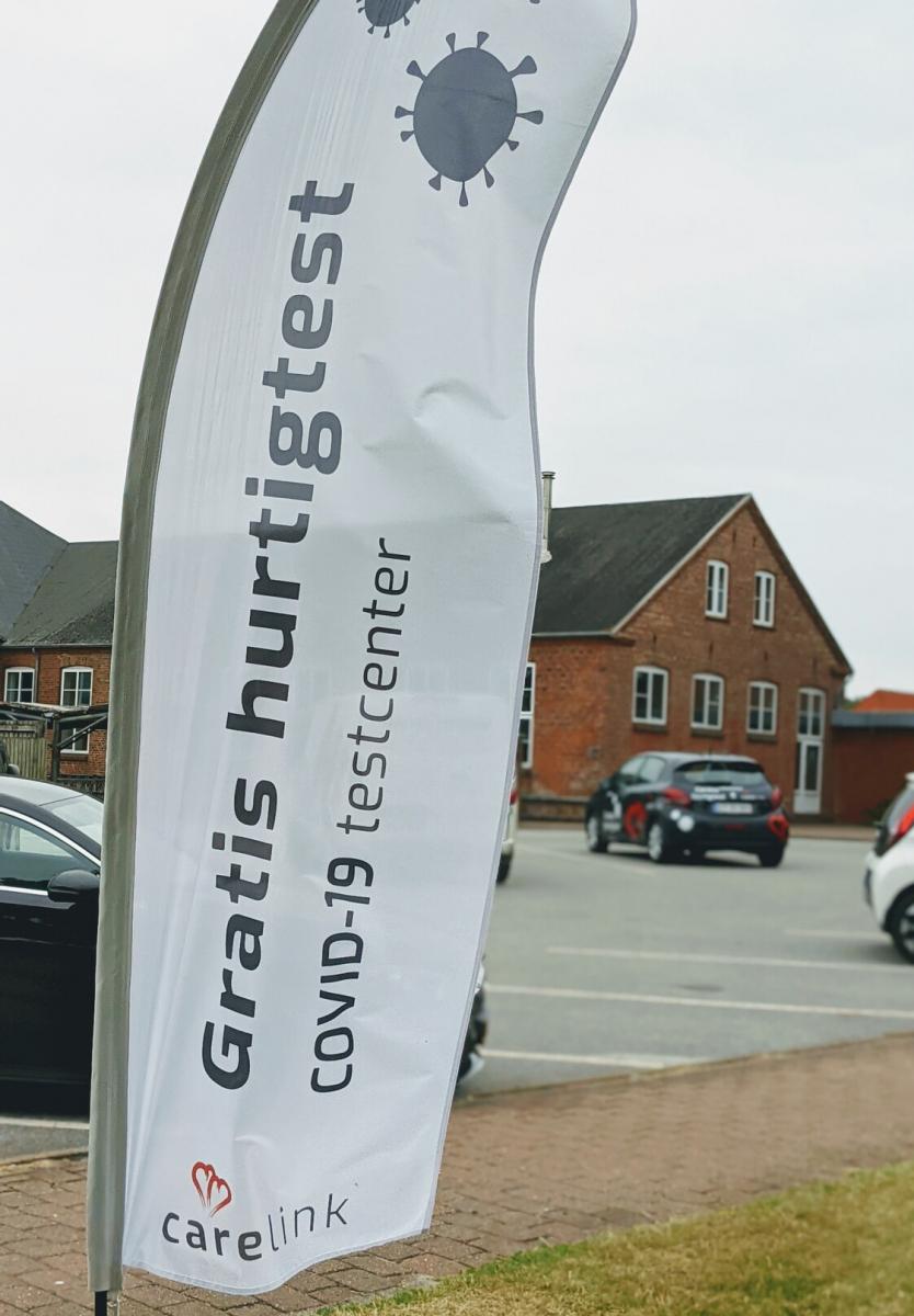 Carelink testcentrum Denemarken