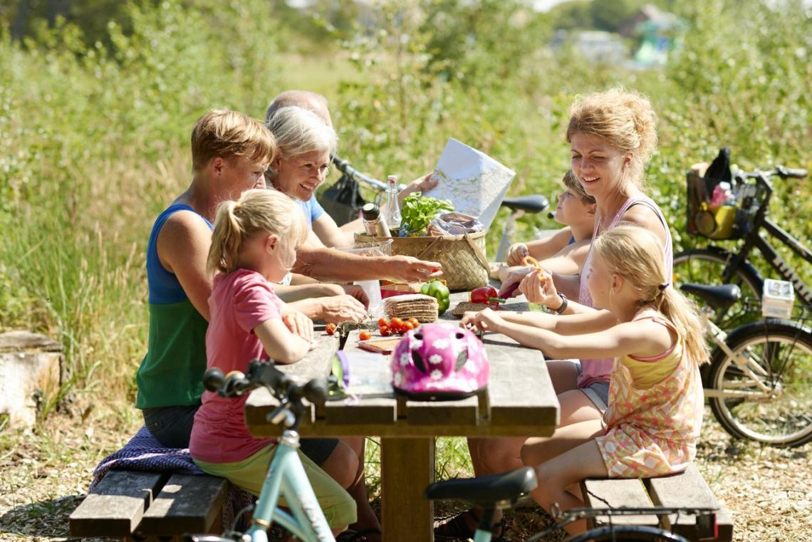 picknick in Denemarken. VisitDenmark - Niclas Jessen